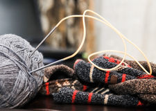 编织,编织,手工制造 库存图片