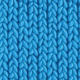 编织sewater织品无缝的样式纹理 免版税库存图片