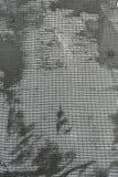 绝缘材料墙壁技术由起泡沫的,泡沫,滤网,胶浆的解答层数  库存照片