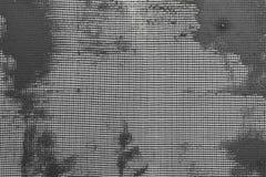 绝缘材料墙壁技术由起泡沫的,泡沫,滤网,胶浆的解答层数  免版税库存照片