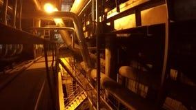 缚住设备管道系统 股票视频