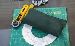 缝制的切口辅助部件 图库摄影