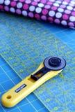 缝制的工具 免版税库存图片