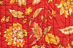 缝制的床罩 图库摄影