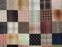 缝制的方形的样式 免版税库存图片