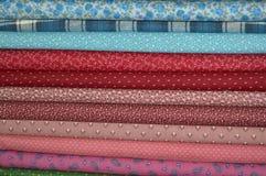 缝制的织品 库存照片