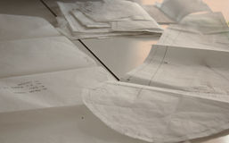 缝合的样式图画  免版税库存图片
