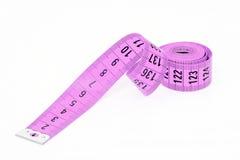 缝合的测量的磁带 免版税库存图片