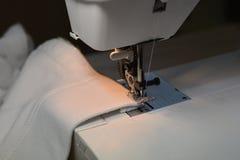 缝纫机特写镜头 免版税图库摄影