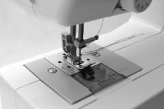 缝纫机 库存照片