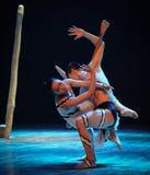 缠结差事的欲望到迷宫现代舞蹈舞蹈动作设计者玛莎・葛兰姆里 免版税图库摄影