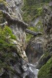 缩小的峡谷 库存照片