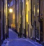缩小的街道 库存图片