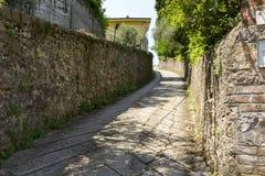 缩小的街道 免版税库存图片