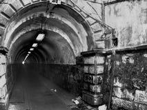 缩小tunel 免版税库存图片