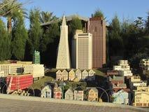 缩样在Legoland,佛罗里达 图库摄影