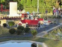 缩样在Legoland,佛罗里达 免版税库存图片