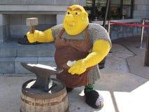 缩样在Legoland,佛罗里达 免版税库存照片