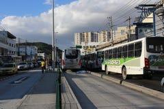 缺乏在交通,在巴西交通的原因死亡的教育 免版税库存图片