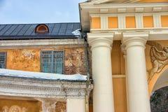 缺点,Archangelskoe庄园的宫殿2009年 免版税库存照片
