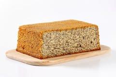 罂粟种子蛋糕 库存照片