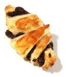 罂粟种子蛋糕 图库摄影
