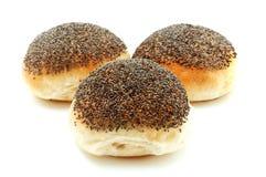 罂粟种子面包 免版税库存图片
