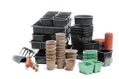 罐和箱子 免版税图库摄影