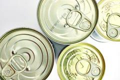 罐头食品 免版税图库摄影