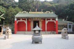 罐子在吊Hau的Hau寺庙 库存图片