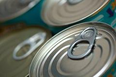 罐子食物 库存照片