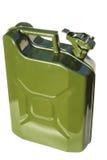 罐燃料绿色 免版税库存照片