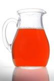 水罐红葡萄酒 库存照片