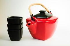 罐茶 图库摄影