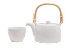 罐茶 免版税库存照片