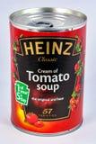 罐蕃茄汤 免版税库存图片