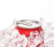 罐装可乐喝III 库存照片