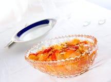 罐装沙拉花瓶 图库摄影
