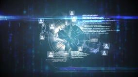 网上全球性社区屏幕