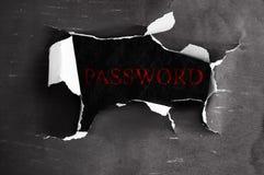 网上密码 免版税库存图片