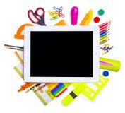 网上教育概念。 免版税库存照片
