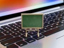 网上训练,教育概念 免版税库存图片