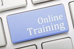 网上训练 免版税库存照片