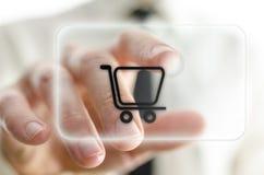 网上购物 免版税图库摄影