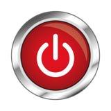 网按钮,在白色背景的EPS 10例证 库存照片