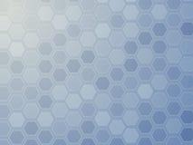 网格六角形墙纸 库存照片