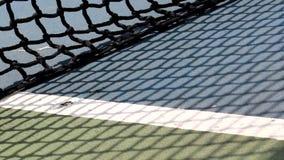 网球、蓝色,白色,绿色和黑颜色滤网  股票录像