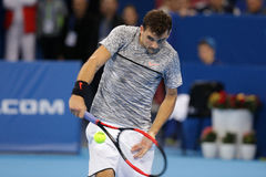 网球员格里戈尔・季米特洛夫 免版税库存图片