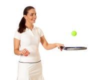 网球员 免版税图库摄影