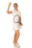 网球员 库存图片